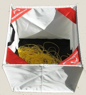 Folding Cube (double) for throw lines