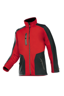Torreon bonded softshell jacket with detachable sleeves